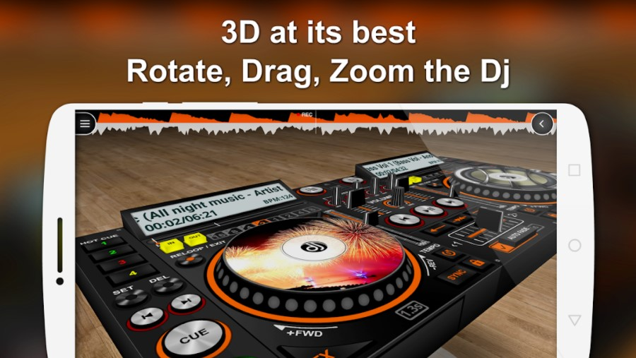 DiscDJ 3D Music Player