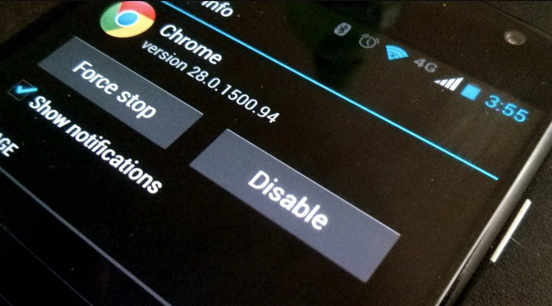 Disable Android App